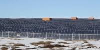 Монголын хамгийн том нарны станц цахилгаан үйлдвэрлэж эхэллээ