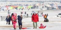 """ФОТО: """"Мөнгөн Улаанбаатар"""" өвлийн спорт наадам, цасны баяр"""