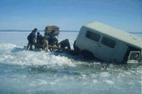 Мөсөн дээгүүр явганаар болон автомашинтай зорчихгүй байхыг анхааруулав