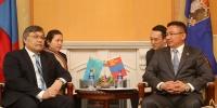 Астана-Улаанбаатарын хооронд шууд нислэг хийх талаар ярилцав