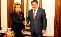 Хатагтай В.И.Матвиенко М.Энхболдод амжилт хүссэн захидал ирүүлжээ