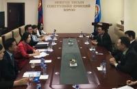 БНСУ-ын төлөөлөгчдийг хүлээн авч уулзав