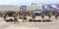 """Цэрэг-спортын """"Дөл"""" цогцолбор тэмцээн эхэллээ"""