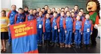 Даамчид ДАШТ-ээс 22 медаль хүртлээ