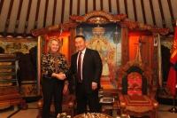 Ерөнхийлөгч Х.Баттулга АНУ-ын Төрийн департментын туслах Сюзан Торнтоныг хүлээн авч уулзлаа