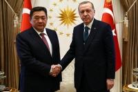Туркийн Ерөнхийлөгч Режеп Тайип Эрдоанд бараалхлаа