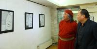 """ФОТО: """"Монгол Тулгатны 100 эрхэм""""-ийн хөрөг үзэсгэлэн нээлтээ хийв"""