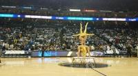 Монголын уран нугараачид NBA-гийн талбайд үзүүлбэрээ толилуулав