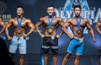 """Бодибилдинг, фитнессийн тамирчид """"Азийн Гран При"""" тэмцээнээс 11 медальтай ирлээ"""