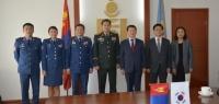 БНСУ-ын Дотоод хэрэг, Үндэсний аюулгүй байдлын дэд сайдыг хүлээн авч уулзлаа