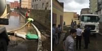 Аадар борооны улмаас хуримтлагдсан усыг соруулж байна