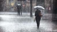 Өвөрхангай, Өмнөговийн нутгаар их хэмжээний усархаг бороо орно