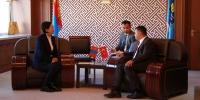 БСШУС-ын сайд Ц.Цогзолмаа Турк улсын Элчин сайдыг хүлээн авч уулзав