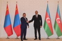 Ерөнхийлөгч Х.Баттулга, Азербайжан улсын Ерөнхийлөгч Илхам Алиевтэй уулзав
