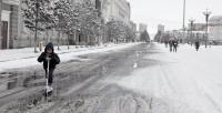 Нойтон цас орж, цасан шуурга шуурна