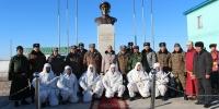 Монгол Улсын Баатар Ш.Гонгорын хөшөөг шинээр сэргээн босгов