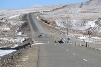 Улаанбаатар Дарханы чиглэлийн замыг ирэх сарын 25-аас арваннэгдүгээр сарын 25-н хүртэл хаана