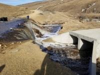 Загастайн давааны замд шар усны үер буужээ