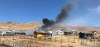 Шадивланд түймэр гарч 6 айлын зуслангийн байшин шатлаа