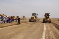 Чингис хот-Бэрх чиглэлийн автозамыг энэ онд барьж дуусгана