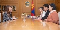 Монгол Улсын Ерөнхий сайд У.Хүрэлсүх ОУПХ-ны даргыг хүлээн авч уулзав