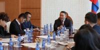БНХАУ-ын Цөлжилтийг бууруулах сангийн төлөөлөгчдийг хүлээн авч уулзав