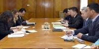 Түр хорооны гишүүд ОУПХ-ны Парламентчдын хүний эрхийн хорооны дарга Др.Александра Жерковтой уулзлаа