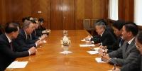 """Ерөнхийлөгчийн Тамгын газрын дарга З.Энхболд """"Азийн төлөөх Боао форум""""-ын төлөөлөгчдийг хүлээн авч уулзлаа"""