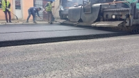 100 айлын зам 7 см зузаантай хийгдсэн байна