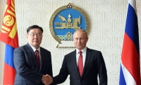 """В.В.Путин: """"Хамтдаа бид зөвхөн урагшаа тэмүүлэх ёстой"""""""