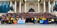 Эерэг, эртэч, эрүүл Монголын төлөө уриан дор залуус нэгдлээ