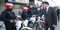 Байгаль хамгаалагчдад автомашин, мотоцикл гардуулан өглөө