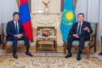 Монгол Улс, Бүгд Найрамдах Казахстан Улсын Ерөнхий сайд нар хэлэлцээ хийв