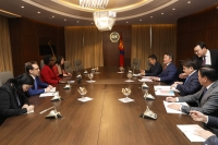 Ерөнхийлөгч Х.Баттулга Дэлхийн банкны дэд ерөнхийлөгчийг хүлээн авч уулзлаа
