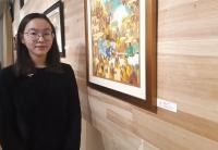 Д.Ариунаа: Тайван орчинд зургаа зурах дуртай