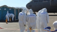 Катарын тусгай үүргийн онгоцоор 43 цэргийн алба хаагч эх орондоо ирлээ