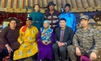 Фронт Цэгмид гуайд аугаа их эх орны дайны ялалтын 75 жилийн ойн медалийг гардууллаа