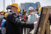 ''Чингис хаан'' хаадын музейн барилгыг төлөвлөсөн хугацаандаа дуусгана гэв