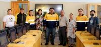 """""""Эрдэнэс-Тавантолгой"""" ХК Өмнөговь аймгийн ЕБС-ийн  мэдээлэл зүй кабинетыг бүрэн тохижууллаа"""