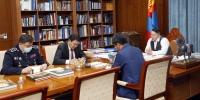 Ерөнхийлөгч Х.Баттулга ЦЕГ-ын даргаар томилогдсон Ж.Болдыг хүлээн авч уулзлаа