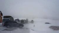 Өнөөдөр баруун аймгуудын ихэнх нутгаар цас орж, цасан шуурга шуурна