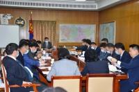 Монгол, Хятадын Засгийн газар хоорондын комиссын Монголын хэсгийн хуралдаан боллоо