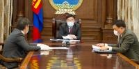 Монголбанкны ерөнхийлөгч болон Санхүүгийн зохицуулах хорооны даргад үүрэг чиглэл өгөв