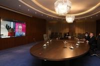 Ерөнхийлөгч Х.Баттулга вакцин боловсруулж буй ''AstraZeneca'' компанийн удирдлагатай цахим уулзалт хийлээ