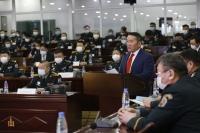 Ерөнхийлөгч Х.Баттулга Зэвсэгт хүчний удирдах бүрэлдэхүүний стратегийн цугларалтад оролцож, үг хэлэв