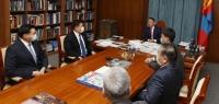 Ерөнхийлөгч Х.Баттулга Засгийн газрын гишүүдийг хүлээн авч уулзлаа