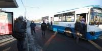 98 чиглэлд 948  автобус  нийтийн тээврийн үйлчилгээнд  явж байна
