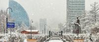 Өнөөдөр Хангайн уулархаг нутаг, халх голын сав газраар бороо, нойтон цас орно