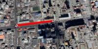 ''Өлзий'' төвөөс Авто плазагийн уулзвар хүртэлх авто замыг хэсэгчлэн хаана