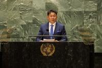 У.Хүрэлсүх: НҮБ-ыг монголчууд бид туулсан нэгэн жарны маань итгэлт нөхөр, туулах олон жарны маань өмөг түшиг хэмээн хардаг